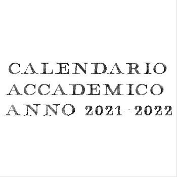 calendario accademico 21 22